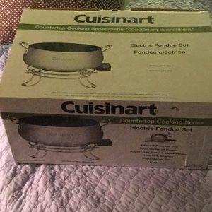 New in box Cuisinart electric fondue set